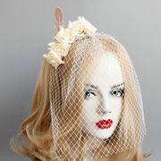 コスプレ 髪飾り アイロン 面紗 仮面舞踏会 ハロウィン 仮装パーティ 宴会