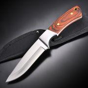 アウトドアナイフ フルタング Hunter 木製ハンドル