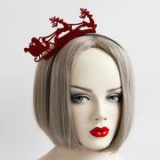 コスプレ 髪飾り そり クリスマス 仮面舞踏会 ハロウィン 仮装パーティ 宴会