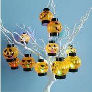 ハロウィン かぼちゃプラスチックの小提灯 バー KTV 彩光を飾る かぼちゃ ドクロライト