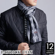 PATRICK COX シルク100%マフラー
