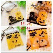焙煎包装 袋 かわいい ハロウィン 笑顔 かぼちゃ お菓子の包装袋