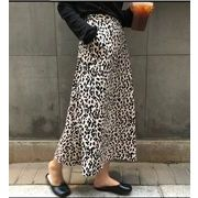 新作アバレル★豹柄 半身スカート★スカート★女服★