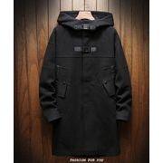 秋冬新作メンズコート トップス大きいサイズ ジャケット おしゃれ♪ブラック/ベージュ2色