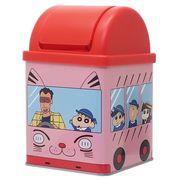 【ゴミ箱・ダストボックス】クレヨンしんちゃん/ミニダストボックス/幼稚園バス