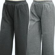 【冬 新作】レディース パンツ 裏シャギー ポケット付 ガウチョ パンツ 10本セット(3色)