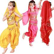 豪華6点セット ハロウィン 衣装 子供 アラジン アラビアン コスプレ コスチューム ドレス ジャスミン