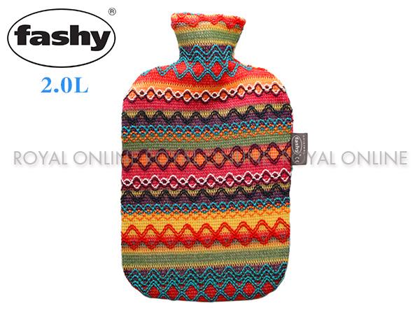 【FASHY】 HWB 6757-25 ペルーデザイン 湯たんぽ 2.0L  マルチカラー