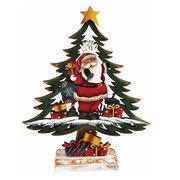 <AMANO>【クリスマス】【木製ツリー】木製ツリー小・サンタ