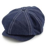 H.CASQUETTE ハンチング キャスケット 帽子 6.DENIM