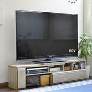 伸縮テレビ台 60インチ対応 ローボード  コーナーTV台にも  オーク JVA-102-OAK