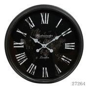 掛け時計 ジュピター Φ76cm ブラック