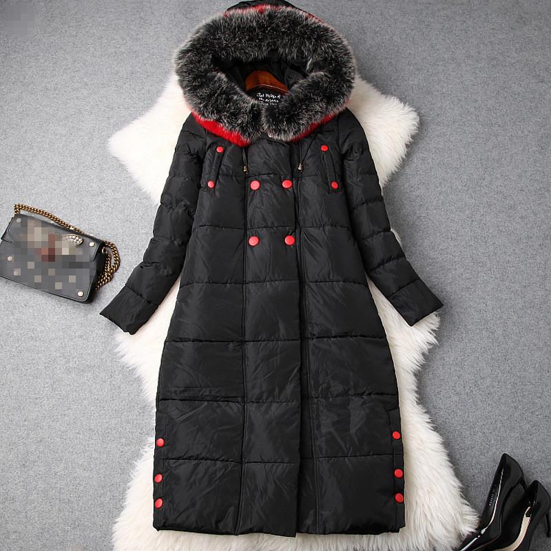 ダウンコート冬新作上質ダウン入れファーコート暖かいコートレディースアウターエレガン