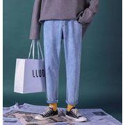 秋冬新作メンズジーンズ パンツ シンプル おしゃれ