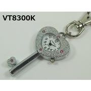 VITAROSOホルダー時計 日本製ムーブメント ハートキー