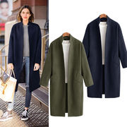秋冬新商品730297 大きいサイズ 韓国 レディース ファッション ファー コート  3L 4L 5L
