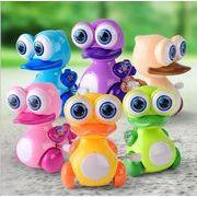 おもちゃ 大目のアヒル 子供 小さなプレゼント 視覚 握る 趣味の育成 知力開発