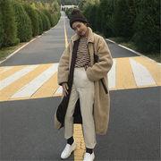 韓国 スタイル ファッション レディース 2018 ユニセックス カジュアル キルティング コート アウター