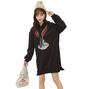 秋冬新商品730310 大きいサイズ 韓国 レディース ファッション ワンピース パーカー3L 4L 5L 6L