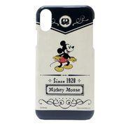 【iPhone X】ミッキーマウス iPhoneXRハードカバー