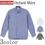 全3色 オックスフォードシャツ 6毎セット売り S-XL 無地 長袖 カジュアル ビジネス ユニセックス