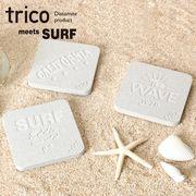 話題の!【trico】 珪藻土 コースター サーフ 108個セット