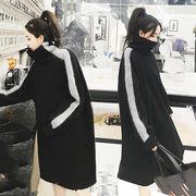秋冬新商品730375 大きいサイズ 韓国 レディース ファッション ワンピース パーカー3L 4L 5L