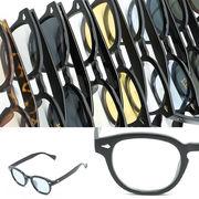 【2018SS新作】 ウェリントン サングラス / ボストン メガネ めがね 眼鏡 伊達 メンズ レディース