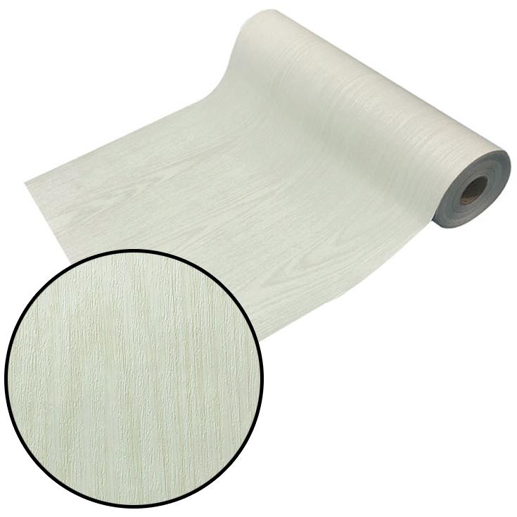 はがせるシール壁紙 ウォールデコシート【30m巻】シンプルな白い木目調【DW-13】
