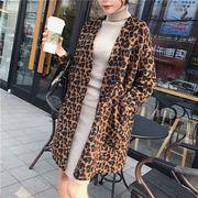 買い逃し注意  韓国ファッション  CHIC気質  レオパード  コート