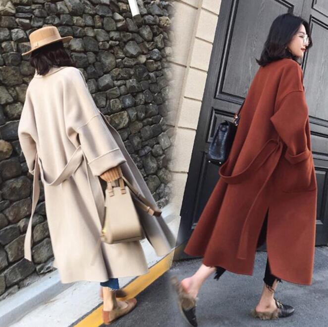 ラシャコート 冬 女性服 可愛い レディース 防寒 長袖 ロング丈コート