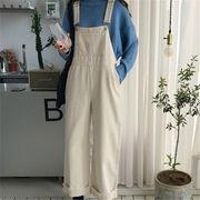 韓国 スタイル ファッション 秋 冬 激安 キャミソール ワンマイルウェア デニム パンツ ジーンズ