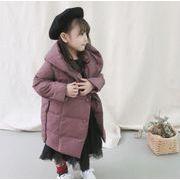キッズジャケット  90-130 厚手 冬 普段着 長袖 子供コート 日常用 女の子 男の子 可愛い