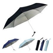 [60cm]日傘 折りたたみ傘 晴雨兼用 耐風仕様 UVカット率/遮光率99%以上 紳士 メンズ