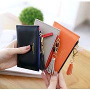 レディースファッション 財布 韓国風 オシャレ 小銭入れ 小物入れ タッセル 7色