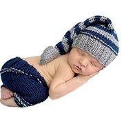 ★赤ちゃん★可愛い新作★個性的★手作り★写真の服★撮影★超カワイイベビー服 ニット 新生児
