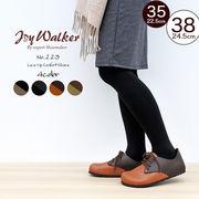 【joy walker】レディースサイズ レースアップシューズ 4色
