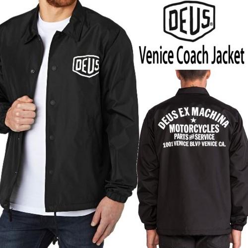 【DEUS】(デウス) VENICE COACH JACKET / コーチ ジャケット