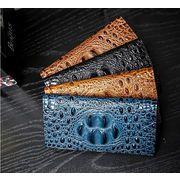 長財布 レディース メンズ 財布 クロコダイルの皮の模様 革のような質感
