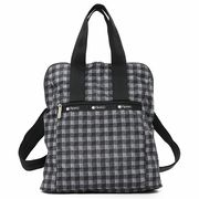 LeSportsac レスポートサック リュックサック EVERYDAY BACKPACK LICORICE CHECK