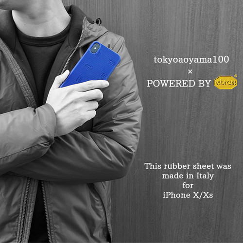vibram × TOKYO AOYAMA iphone X/XS 対応 スマホケース Coverタイプ  3色展開