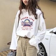 トップス カットソー Tシャツ プリント スウェット トレーナー ファッション レディース