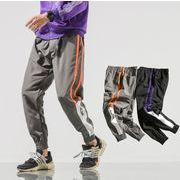 初春新作メンズパンツ ズボン大きいサイズ ゆったり おしゃれ♪ダークグレー/ブラック2色