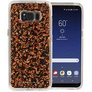 【ブランド品】Galaxy S8+ SC-03J/SCV35 スマホ ケース ハード カバー 【キラキラ 金箔】 米国軍用規格○