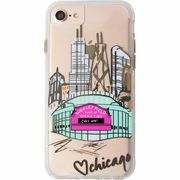 iPhone8/7/6s/6  Hybrid Naked Tough City Print Chicago Play Ball  CM035288