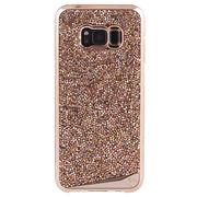 【ブランド品】Galaxy S8+ SC-03J/SCV35 スマホ ケース カバー 【本水晶 キラキラ】 ハードケース