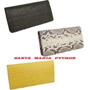Santa Maria サンタマリア製パイソン 蛇革 財布/パイソン長財布