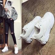 新しいデザイン 韓国風 熏 靴 超人気 ネット レッド スポーツシューズ 女 何でも似合