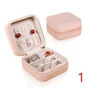 ジュエリーボックス*宝物箱*アクセサリーケース*飾り物ケース 収納箱 ★指輪・ネックレス用ボックス