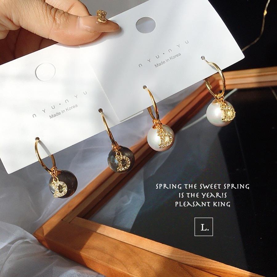 【即納】パール ピアス イヤリング 14金ゴールドプレーテッド ラインストーン アクセサリー